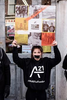 A21 Walk for Freedom