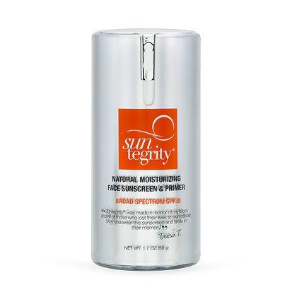 Suntegrity Natural Moisturizing Face Sunscreen & Primer, Broad Spectrum SPF 30