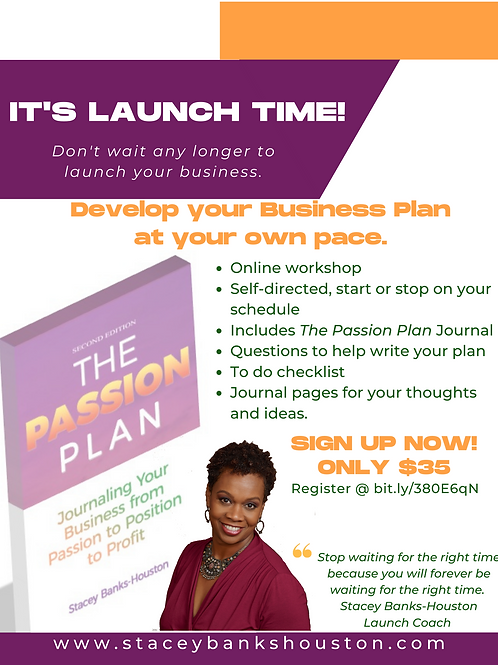 Launch Time Business Plan Online Course
