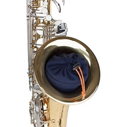 Sax Neck/Mouthpiece Pouch - In-bell Storage