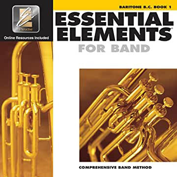 Essential Elements for Band - Book 1 - Baritone (Bass Clef)