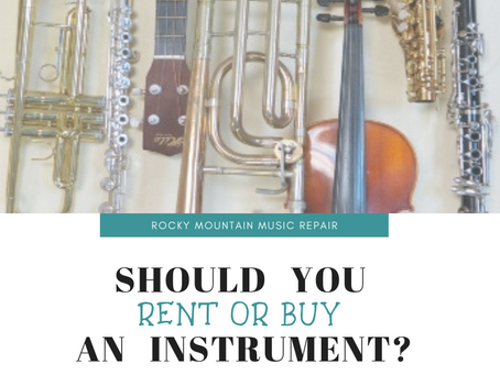 Renting vs. Buying an Instrument