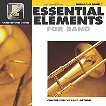 Essential Elements for Band - Book 1 - Trombone