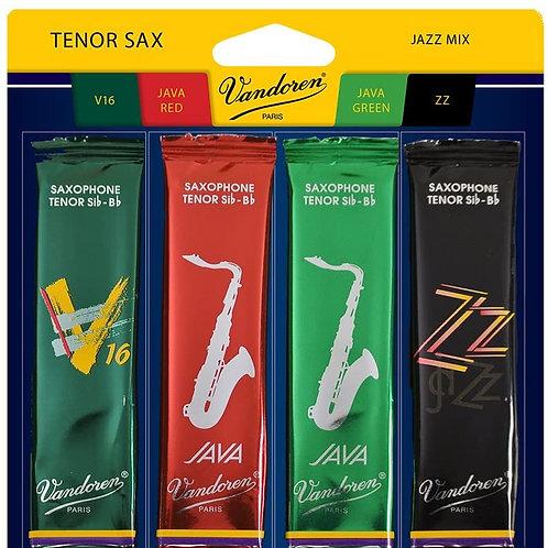 Vandoren 'Jazz Pack' Reeds - Tenor Sax