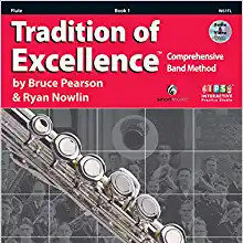 Tradition of Excellence - Book 1 - Flute