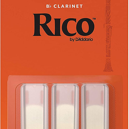 Rico Clarinet Reeds - Pack of 3