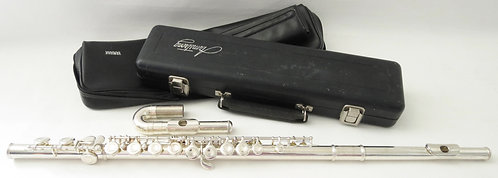 Yamaha Flute with Curved & Straight Headjoints