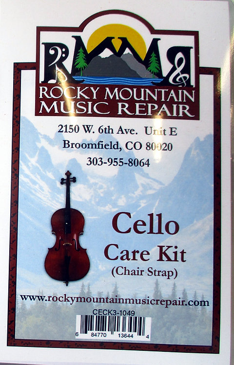 Care Kit - Cello (Chair Strap)