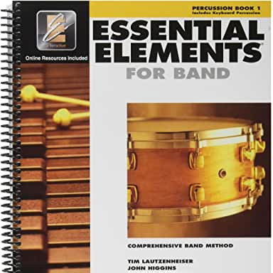 Essential Elements for Band - Book 1 - Percussion