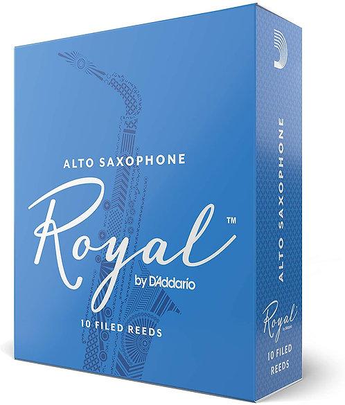 Rico 'Royal' Alto Sax Reeds - Box of 10