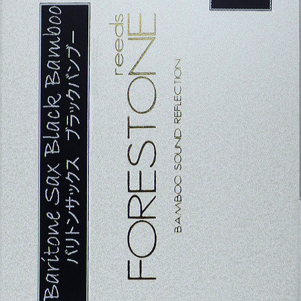 Forestone Synthetic Reed - Black Bamboo - Bari. Sax