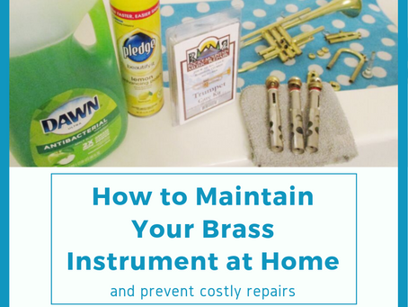 How You Can Maintain your Brass Instrument at Home