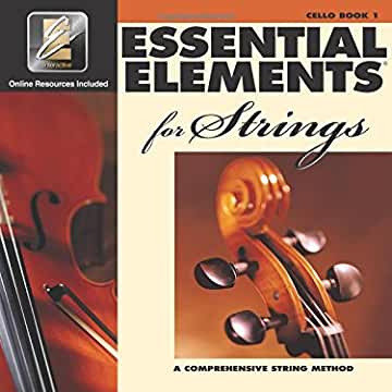 Essential Elements for Strings - Book 1 - Cello