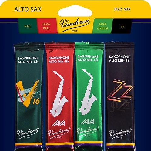 Vandoren 'Jazz Pack' Reeds - Alto Sax