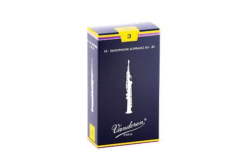 Vandoren Reeds - Soprano Sax - Box of 10