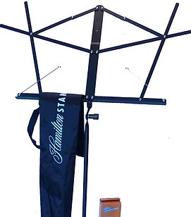 Hamilton Music Stand - Folding with Bag