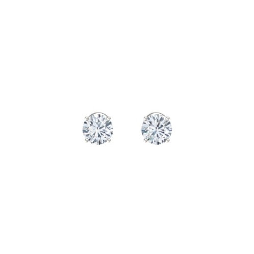 14K White Gold Diamond Studs (.75tcw)