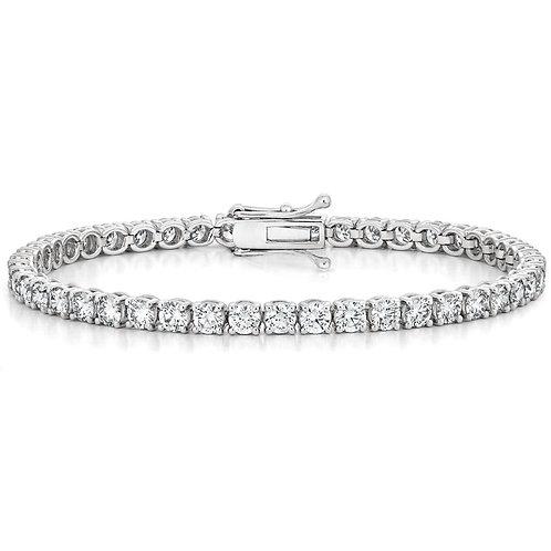 Diamond Tennis Bracelet (3.00ctw) in 14K White Gold