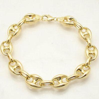 14K Men's Gucci Link Bracelet