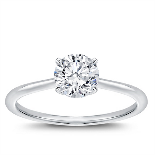 Classic Solitaire Engagement Ring - Customize