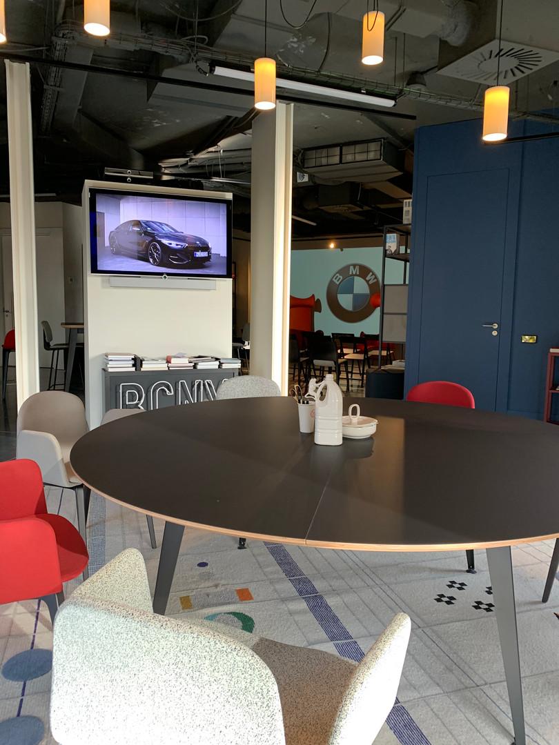 Sala de reuniones, mesa redonda Don