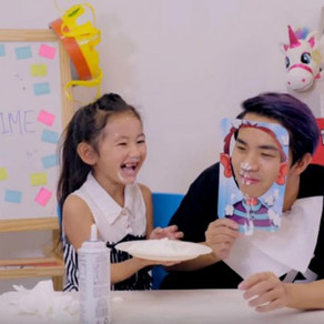 Catch Singapore's young YouTube stars on Playtime TV, Shan And Shaista Show and Kandie Family