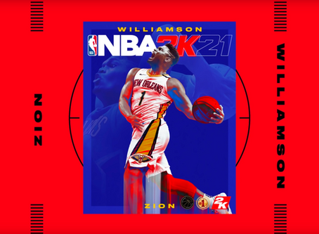 NBA 2K21 Cover Art for Next-Gen Platforms to Feature Zion Williamson