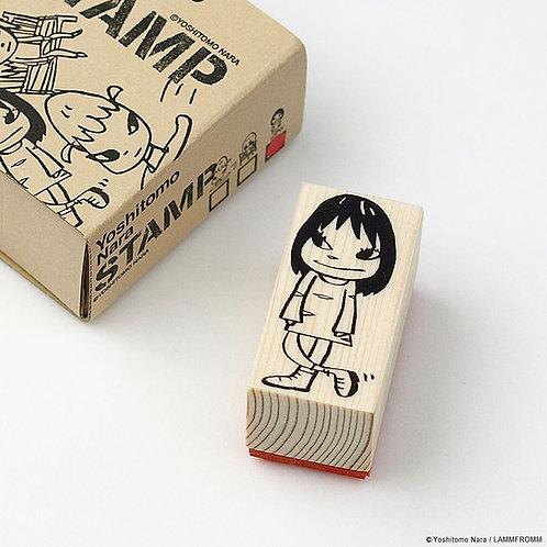 [ Yoshitomo Nara Product ] Yoshitomo Nara NARA STAMPS / Little Girl(M)
