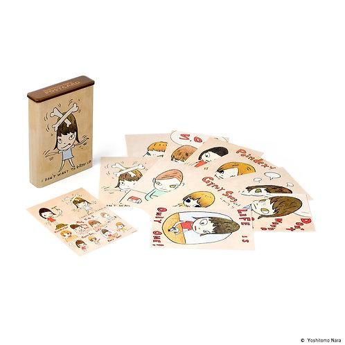 """[ Yoshitomo Nara Product ] Yoshitomo Nara Postcard Box Set """"Print Works"""""""