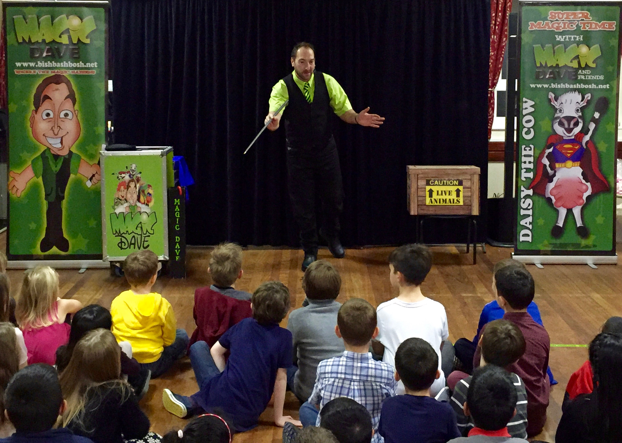 Magic Show Birthday Party