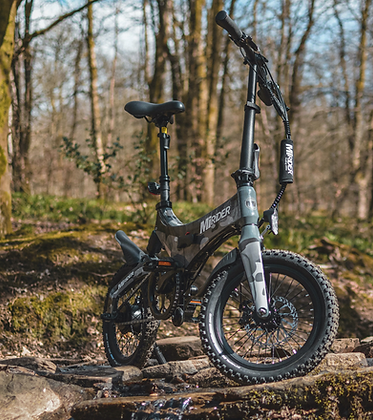 Camo Edition'based upon a Grey MiRiDER One and fitted with Schwalbe chunky tyre