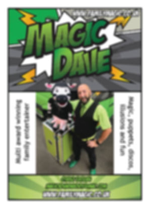 Magic Dave & Daisy The cow, Magician and childrens entertainer Bedfordshire