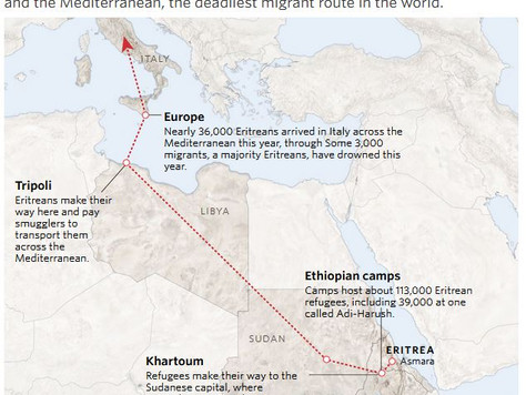 The Tribulations After; beyond Eritrea