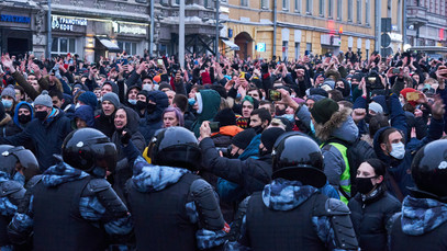 Russian Winter Protests and Violations of the Right to Peaceful Protest