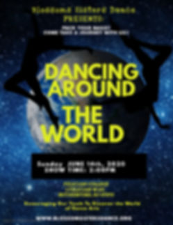 dancing around the world - Made with Pos