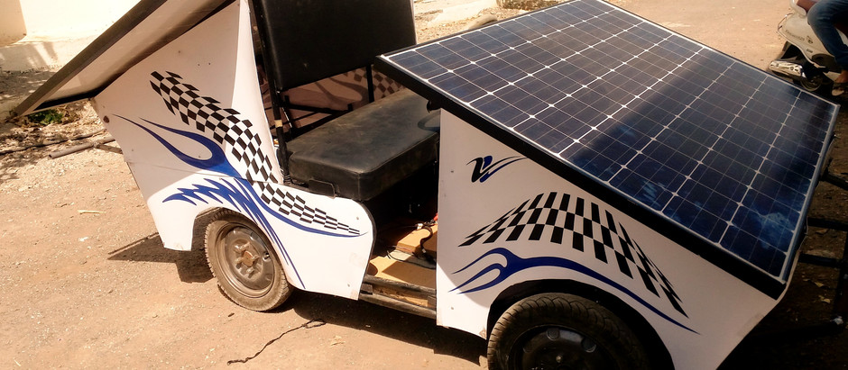 chassis design for Solar operated vehicle