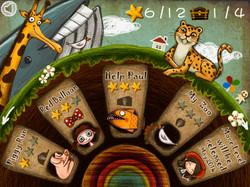 Game menu interface