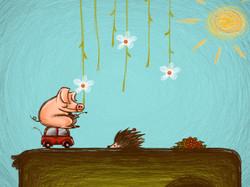 Level III: Piggy Run