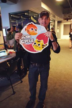 SpinCycle at NYU GameCenter EOY show
