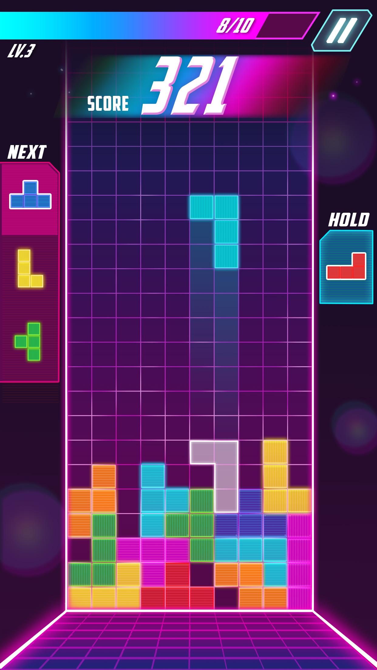 Tetris UI Redesign