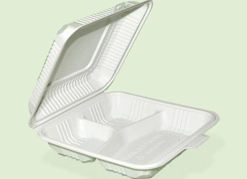 Portacomida PC3 textura de plastico biodegradable en Cali Colombia