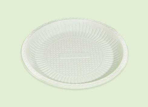 Plato Medium de plastico biodegradable en Cali Colombia
