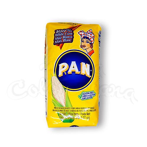 Harina PAN White Corn Flour - (Harina de Maíz Blanco) - 1kg