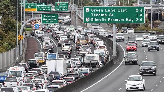 Traffic Jam Auckland