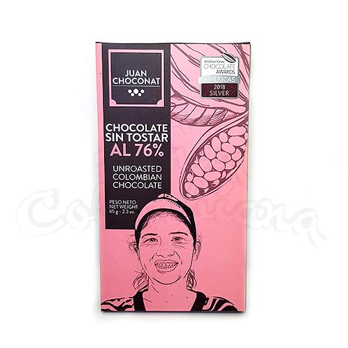 Chocolate bar - Colección Heroes 76% sin tostar
