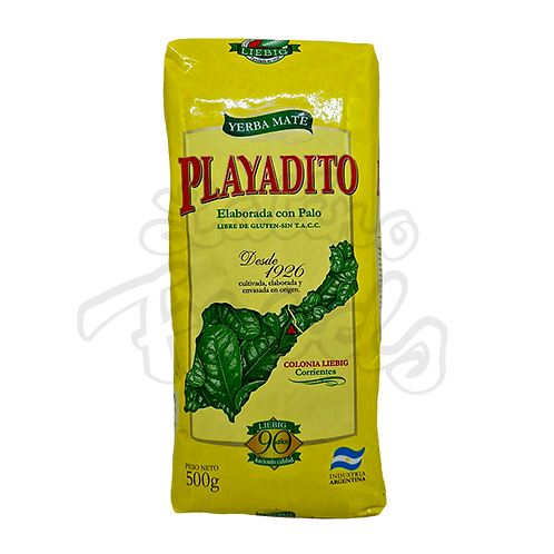 Yerba Mate Playadito Traditional with Stems - 500g