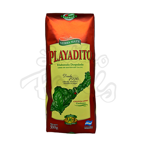 Yerba Mate Playadito Traditional without Stems from Argentina in New Zealand