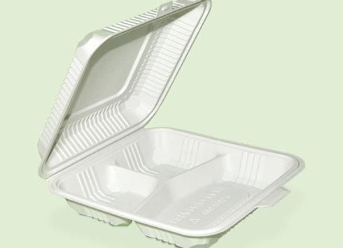Portacomida PC3 Big de plastico biodegradable en Cali Colombia
