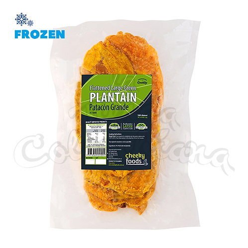 Large Flattened Green Plantain - 1kg