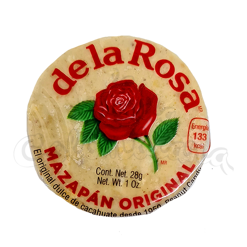 Mazapan (Traditional Mexican sweet) - 1 Unit - 28g